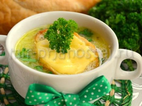 Луковый суп рецепт с фото