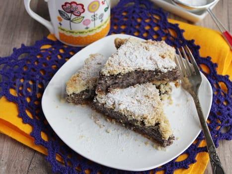 Маковый пирог с фото