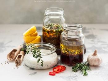 Маринад с оливковым маслом