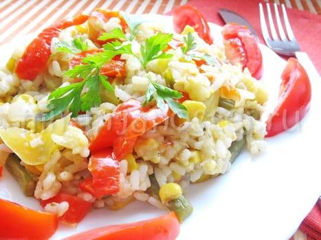 Паэлья с овощами