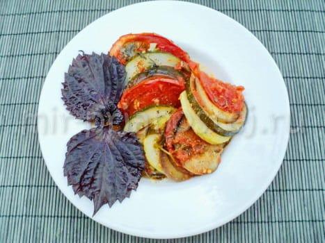 Рецепт рататуя