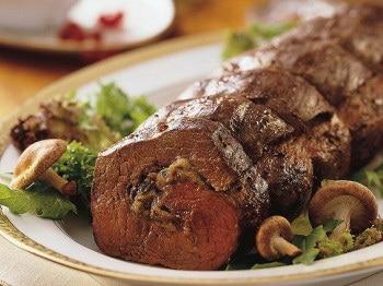 Праздничные из мяса в духовке с фото