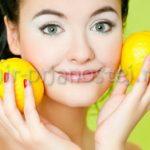 Маска из лимона