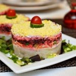 Салат под шубой классический