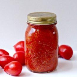 Томатный соус из помидоров на зиму