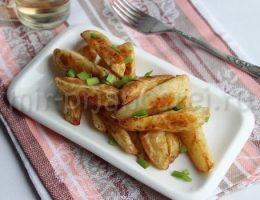 картофель в духовке с хрустящей корочкой